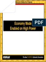 Economy Mode Enabled on High Power Machines