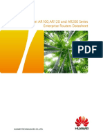 Huawei AR100 AR120 and AR200 Series Enterprise Routers Datasheet