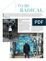 Dare to Be Radical | Sofia George Interview | Cliché Magazine
