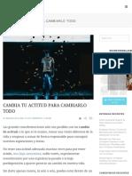 ACTITUD-CAMBIA TU-BLOGUERO