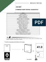 41050-Steering Testing or Diagnostics