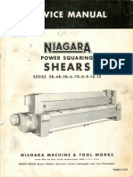 Niagara 3B 12 Power Squaring-Shears-Service