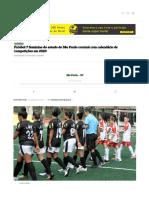 Futebol 7 feminino do estado de São Paulo contará com calendário de competições em 2020 - Futebol 7 Brasil