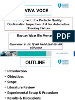 Development of a Portable Quality-Confirmation Inspection Unit for Automotive Checking Fixture