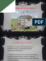 Casa autosustentable ETICA