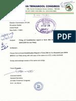 TMC Contribution Report 18-19
