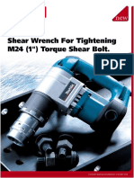 makita torque shear bolt for tightening