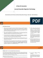 Advanced Anaerobic Digestion System