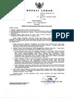 surat edaran tentang prioritas Dana desa