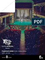 Programa de Ma Teatre Ateneu Gener 2020