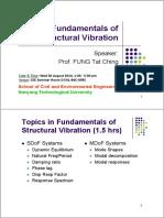 Fundamentals of Structural Vibration (Slides)