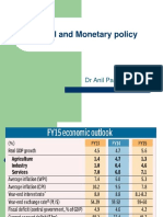 Fiscal and Monetary policy