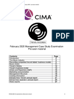 Managerial case study - February 2020