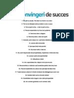 20 concepte despre succes