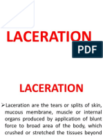MECHANICAL INJURIES - LACERATIONS