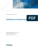 7-Mode Transition Tool installation and administration