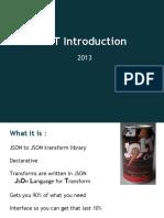 JOLT Introduction