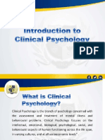 Intro- Clinical Psy-PPT