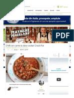 Chilli con carne la slow cooker Crock-Pot