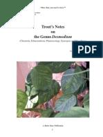 genus desmodium from Trout
