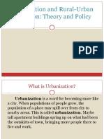Urbanization-Report
