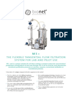 Bionet Engineering_m1_benchtop_tangential-flow-filtration_system