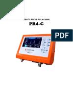 PR4-GMU--E Manual de Usuario PR4-g