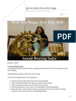 Soundhealingindia.com-Anything That We Ignore Takes the Center Stage