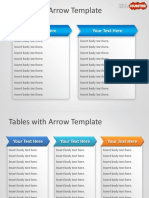 1145-tables-with-arrow-powerpoint-template