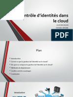 Contrôle d'Identité dans le Cloud