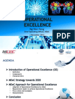 Operational Excellence - Ms. Wan Peng