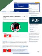Cómo ocultar equipo PC Windows 10, 8, 7 en la red