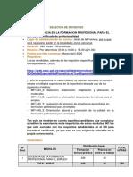 Anuncio SAE (Docencia en la formación)