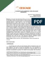 Reologia do Concreto Auto Adensável para Aplicação Residencial