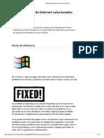 100 problemas de Internet solucionados