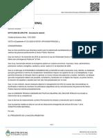 Decreto para el sector público