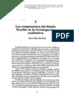 B Mendizabal_Los componentes del diseño flexible en la investigación cualitativa