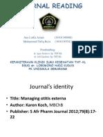 Journal reading (5)