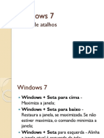 Windows 7 Atalhos