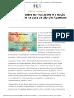 IHU Online - Comportamentos normatizados e a noção de profanação na obra de Giorgio Agamben
