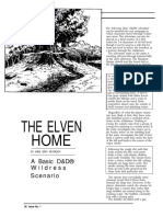 The elven home Dungeon Magazine - 001