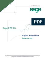 ShareSlides.Org-Sage ERP X3. Support de formation. Outils avancés. Sage ERP X3 Outils avancées.pdf