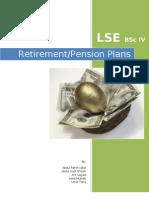 Retirement / Pension Plans