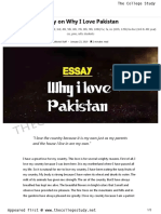 Essay on Why I Love Pakistan _ The College Study