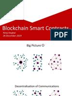 Smart Contracts - 26 Dec 2019