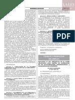Decreto supremo N° 003-2020-TR