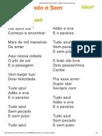 SEM PECADO E SEM JUÍZO - Baby do Brasil (Impressão)
