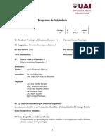 02 - Procesos Psicológicos Básicos I. 2019