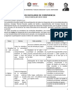 Acuerdos escolares de convivencia escolar. PROGRAMA NACIONAL DE CONVIVENCIA ESCOLAR