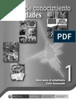 Campo de conocimiento, Humanidades. Guía para el estudiante 1, Ciclo Avanzado.pdf